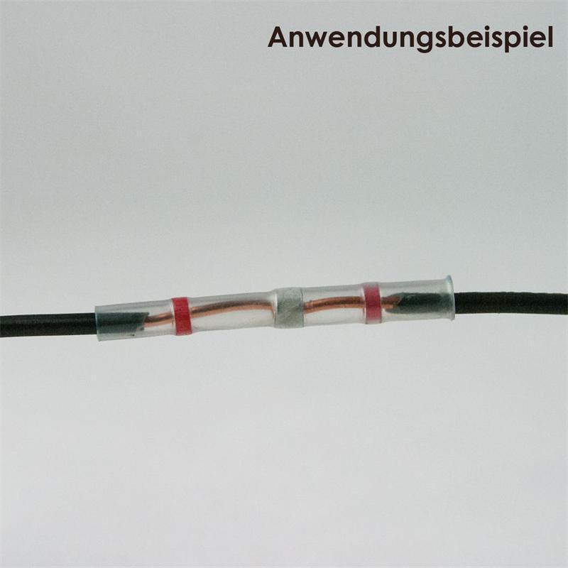 500 Connecteurs à Souder Rouge, 0,8 -2,0mm -2,0mm -2,0mm ² Avec 7511ee