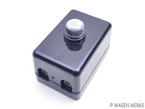vw bug fuse box 2 fuses 1956 to 1959 german ebay