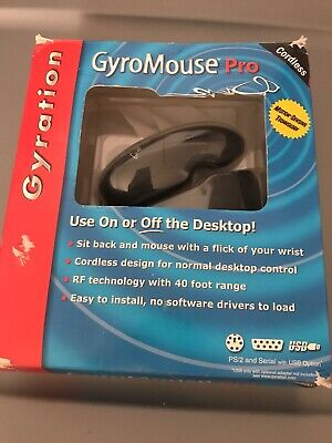 Gyration GyroMouse Pro PS2//Serial