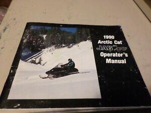 Vintage-1990-Arctic-Cat-Jag-AFS-Snowmobile-Operators-Manual-45-page-book