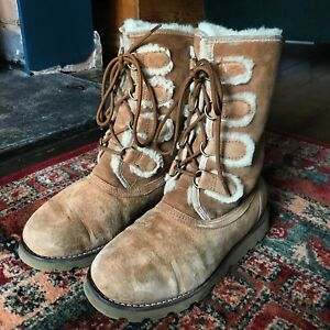 Rommy Size Brown Boots 5 Genuine Ladies Short Up 4 Lace Ugg Uk qtpfnFTw