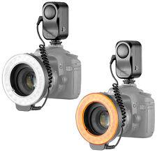 Bestlight 48 LED Video Camera Macro Ring Light + 6 Adaptor Rings