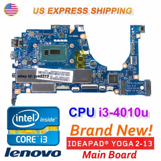 New Lenovo YOGA 2 13 20344 Intel CPU i3-4010U Laptop ZIVY0 LA-A921P  Motherboard