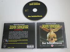 GEISTERJÄGER JOHN SINCLAIR/95/DER SCHÄDELTHRON(LÜBBE HÖRSPIELE) CD