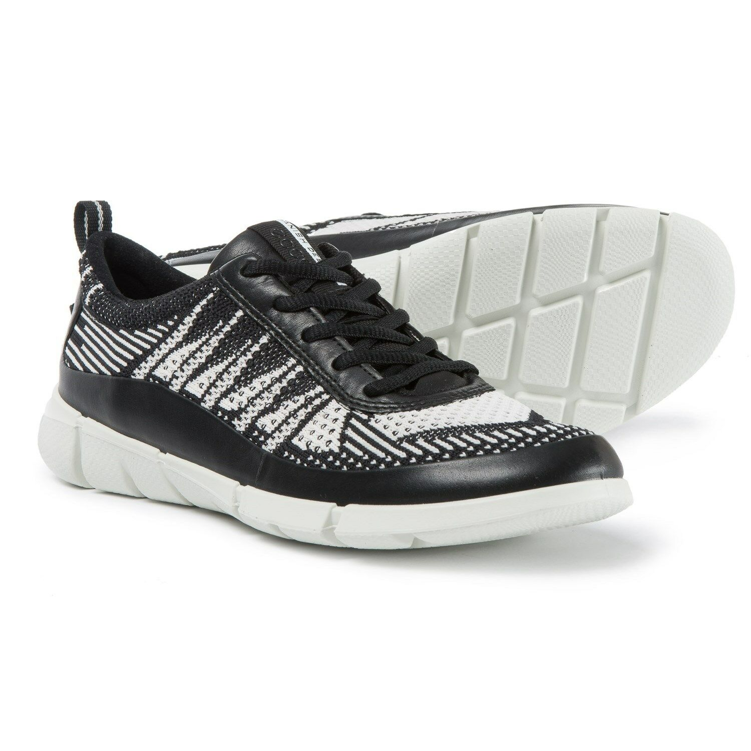 New Damens`s ECCO Intrinsic 1 Low Cut Lace Sneakers 86003