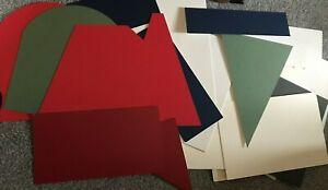 Caja-de-25-Placa-de-Montaje-mountboard-Tarjeta-Gruesa-De-Recortes-Varios-Tamanos-Colores-Forma