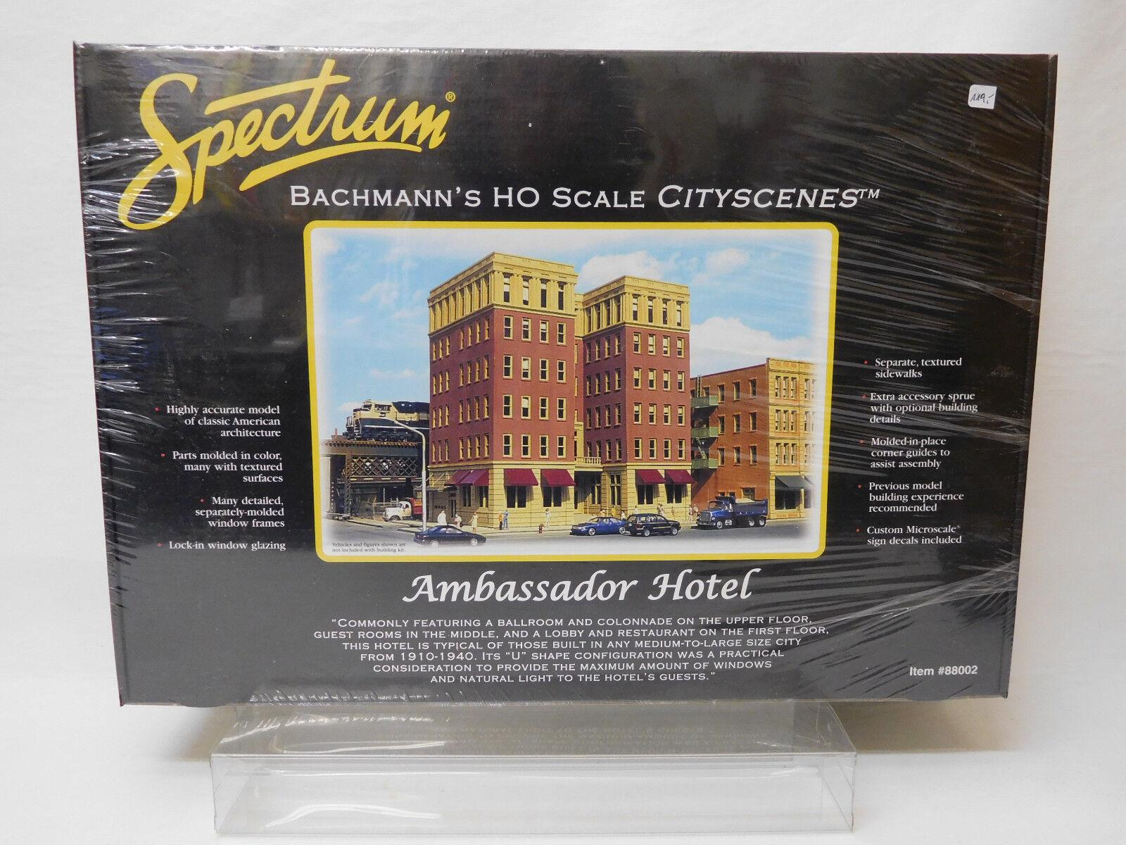 Mes-54392 Spectrum 88002 h0 Ambassador Hotel Kit Unopened