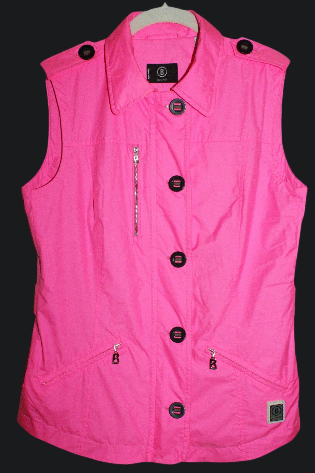 BOGNER Vest Pink Size 8
