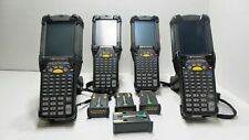Lot Of 4 Symbol Motorola Mc9190 G30swsqa62r R Wireless Barcode Scanners Withcradle
