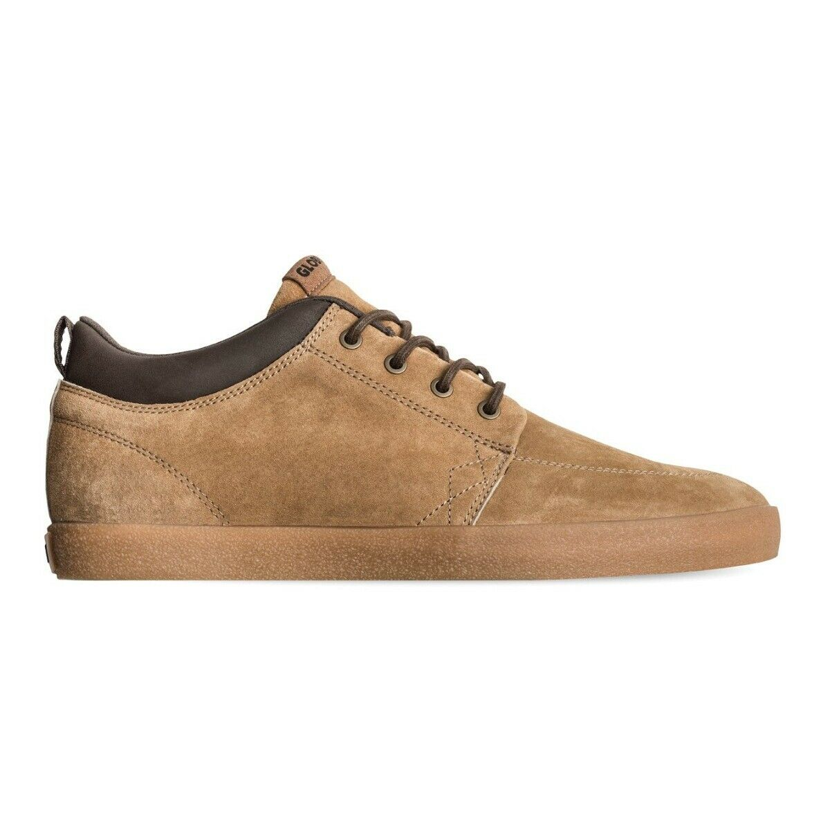 Globe NEW Men's GS Chukka shoes Dark Tan Crepe BNWT