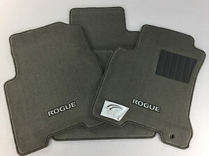 999e2 gx011 nissan rogue carpeted floor mats new oem. Black Bedroom Furniture Sets. Home Design Ideas