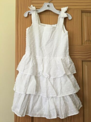 NWT Gymboree Swiss Dots Dress special Occassion Wedding Easter Outlet white