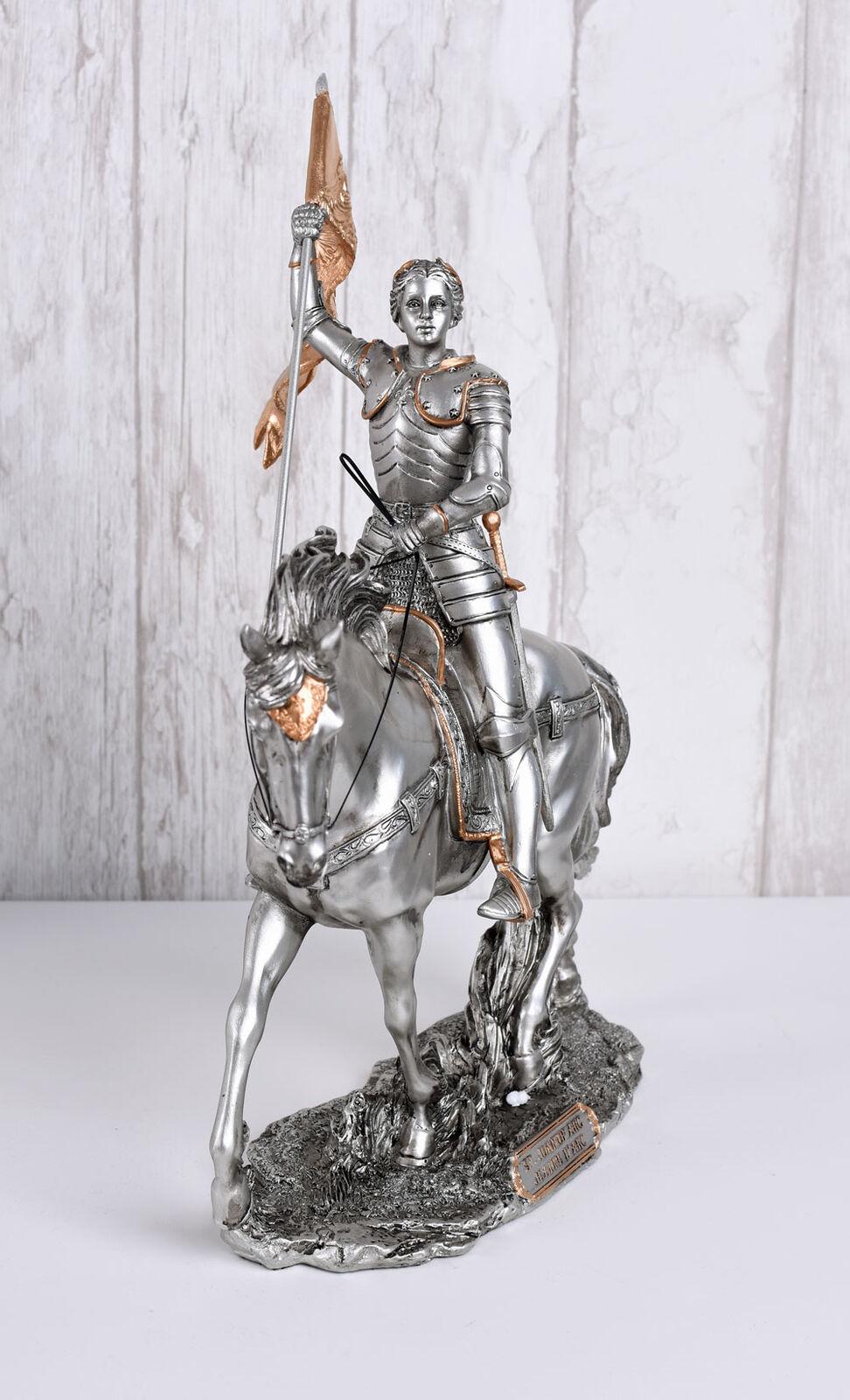 Jungfrau von Orleans Ritterrüstung Frankreich Nationalheldin Skulptur Veronese