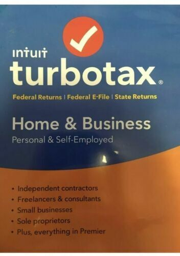 Intuit TurboTax Home & Business USA Software - Every deduction found.