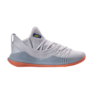 Under Armour curry 5 tokyo grey gum bottom rare youth kid sizes basketball shoes