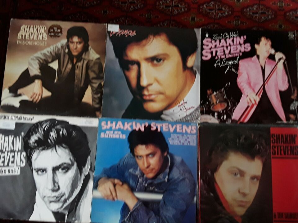LP, Shakin Stevens, Pop