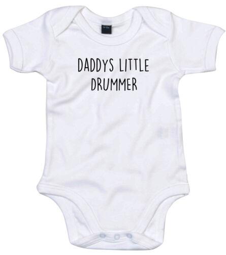 Batteur body costume personnalisé daddys little baby grow cadeau