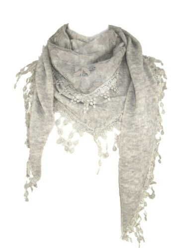 Tricot triangle foulard LARME PAMPILLES ET Floral Panel