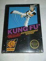 Kung Fu (Nintendo NES, 1985) CIRCLE Seal NEW Factory Sealed