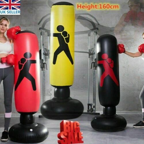 Boxing Punch Bag Children Punching Bag Set Kids Fitness Gift Pack Boys Training.