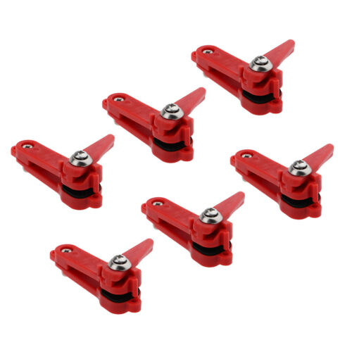 6pcs Heavy Tension Snap Release Clip Weight Planer Board Offshore Fishing