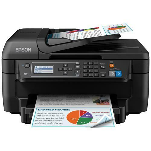 EPSON WF-2750DWF Multifunzione Stampa Copia Scansione Fax Inkjet a Colori A4 Wir