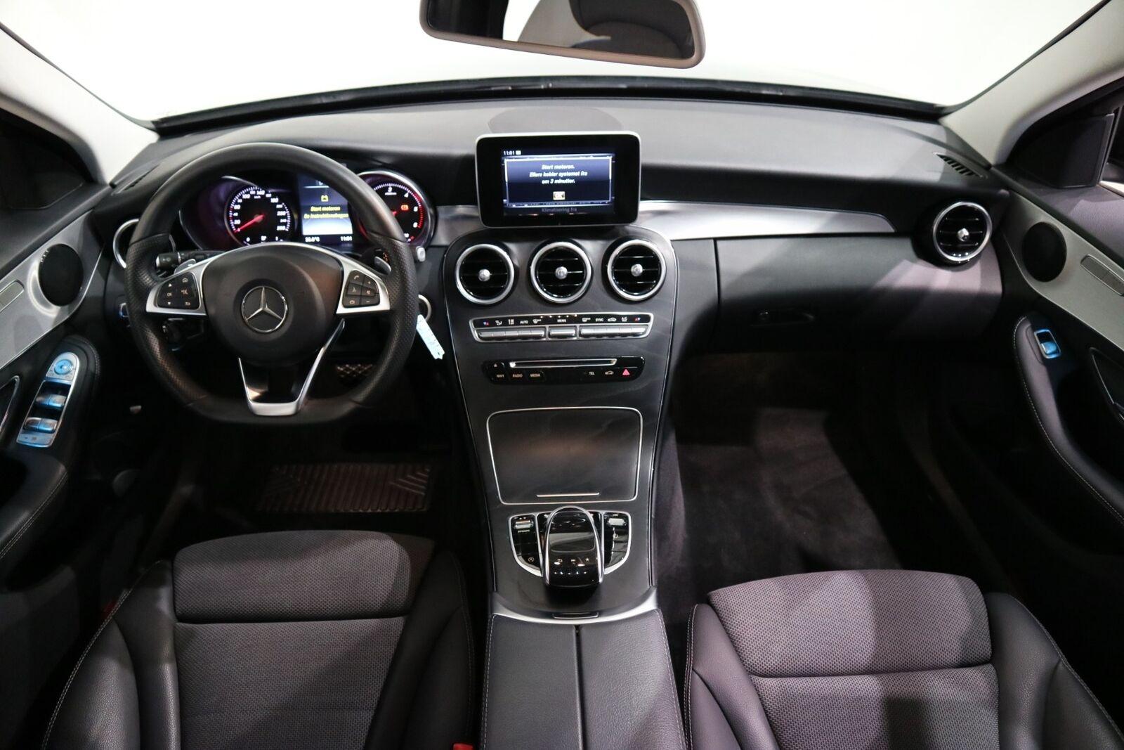 Mercedes C220 d 2,2 AMG Line stc. aut. - billede 6