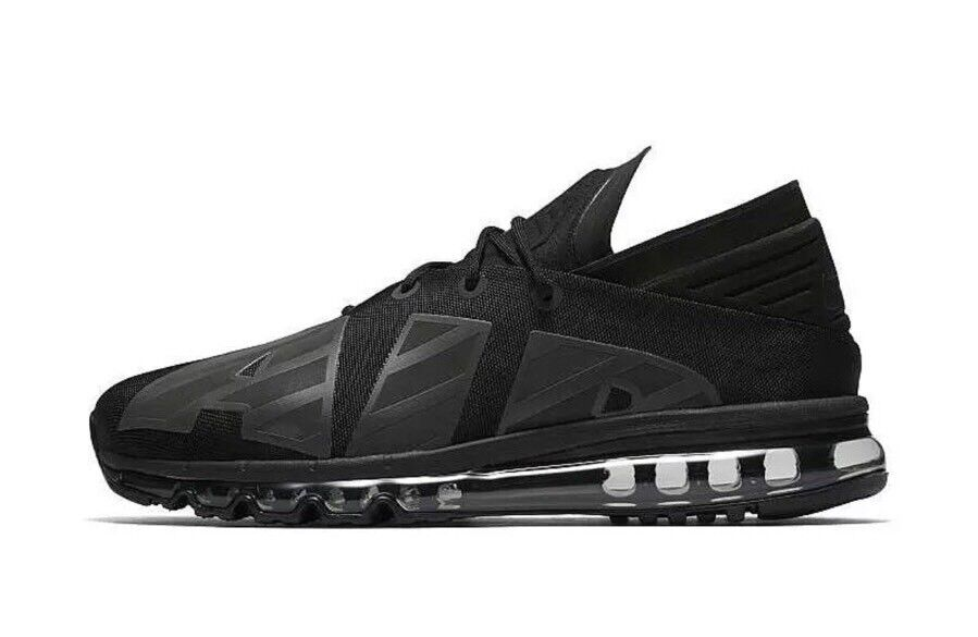 Nike Air Max Flair SE Mens Black Anthracite Grey AA4084 001 Special Edition 9
