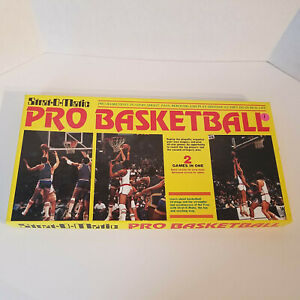STRAT-O-MATIC-Pro-Basketball-Vintage-Game-1981-NBA-ALL-components-except-1-die