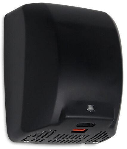 Edelstahl 320x280x175mm Schwarz automatisch 1800W Elektrischer Händetrockner