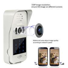New TIVDIO Wi-Fi Enabled Video Doorbel Home DoorPhone Intercom IR Vision+Track