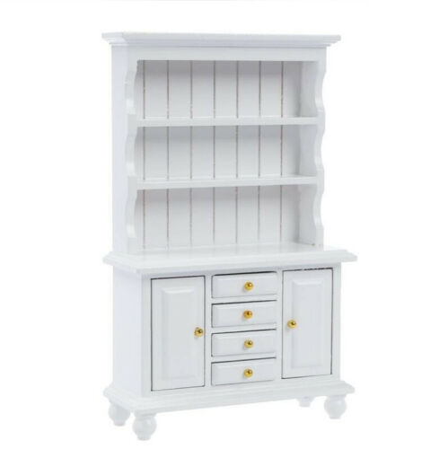 Showcase 1//12 Dollhouse Miniature Furniture Wooden 3 Layer Cabinet w// Drawers