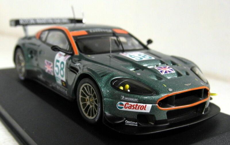 IXO échelle 1 43 GTM026 Aston Martin DBR9  58 sebring 12 H 2005 Diecast Voiture Modèle