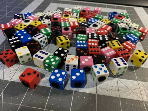 NEW Dice Valve Caps Choice Color 3 sets Old School BMX GT Hutch Redline Dyno
