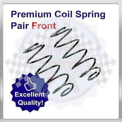 Pair of Front Coil Springs for Toyota Yaris 1.3 (09/99-05/03)