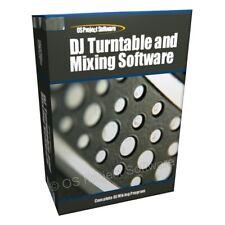 Dj giradiscos Mp3 mezcla Mezclador Reproductor cubiertas software Cd