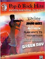Trombone Top Hits Pop & Rock Sheet Music Katy Perry Bruno Mars Green Day