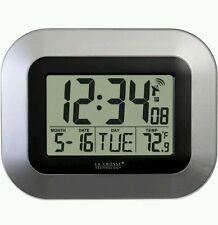 La Crosse Technology Atomic Digital Clock WT-8005U-S New EBiz