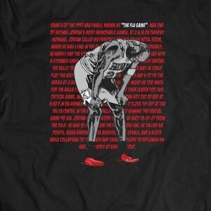 MICHAEL-JORDAN-FLU-GAME-ARTWORK-Mens-T-Shirt-MANY-OPTIONS