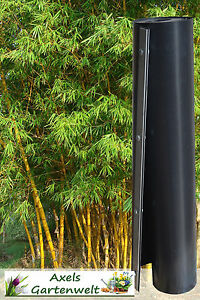 5m Wurzelsperre Verschlussleiste Rhizomsperre Bambussperre Bambus