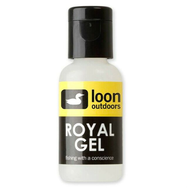 Loon Outdoors Royal GEL Floatant Fly Fishing Iridescent Temperature Stable for sale online
