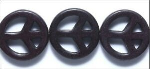 Black-Color-Resin-Peace-Beads-10-BUY1-GET-1-FREE