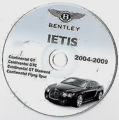 BENTLEY CONTINENTAL SERVICE REPAIR MANUAL FOR GT FLYING SPUR GT DIAMOND
