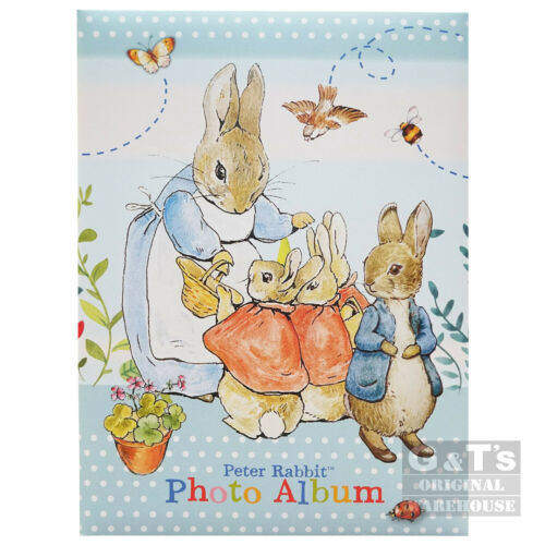 """Beatrix Potter Peter Rabbit Portrait Shape 100 4/"""" x 6/"""" Photo Album"""