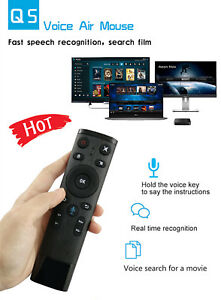 c2457baf5fd Voice Control 2.4G Wireless Keyboard Air Mouse Voice WIFI Voice ...