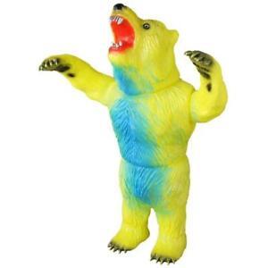 Medicom Sofubi Rampaging Bear version en vinyle, figurine articulée neuve 4530956537795