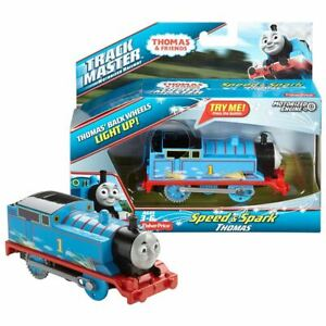 New-Thomas-amp-Friends-Trackmaster-Speed-amp-Spark-Thomas-Motorized-Engine-Official