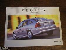 Opel Vectra 5-drzwiowa (5-Türer) Prospekt / Brochure / Depliant, PL, 3.1999