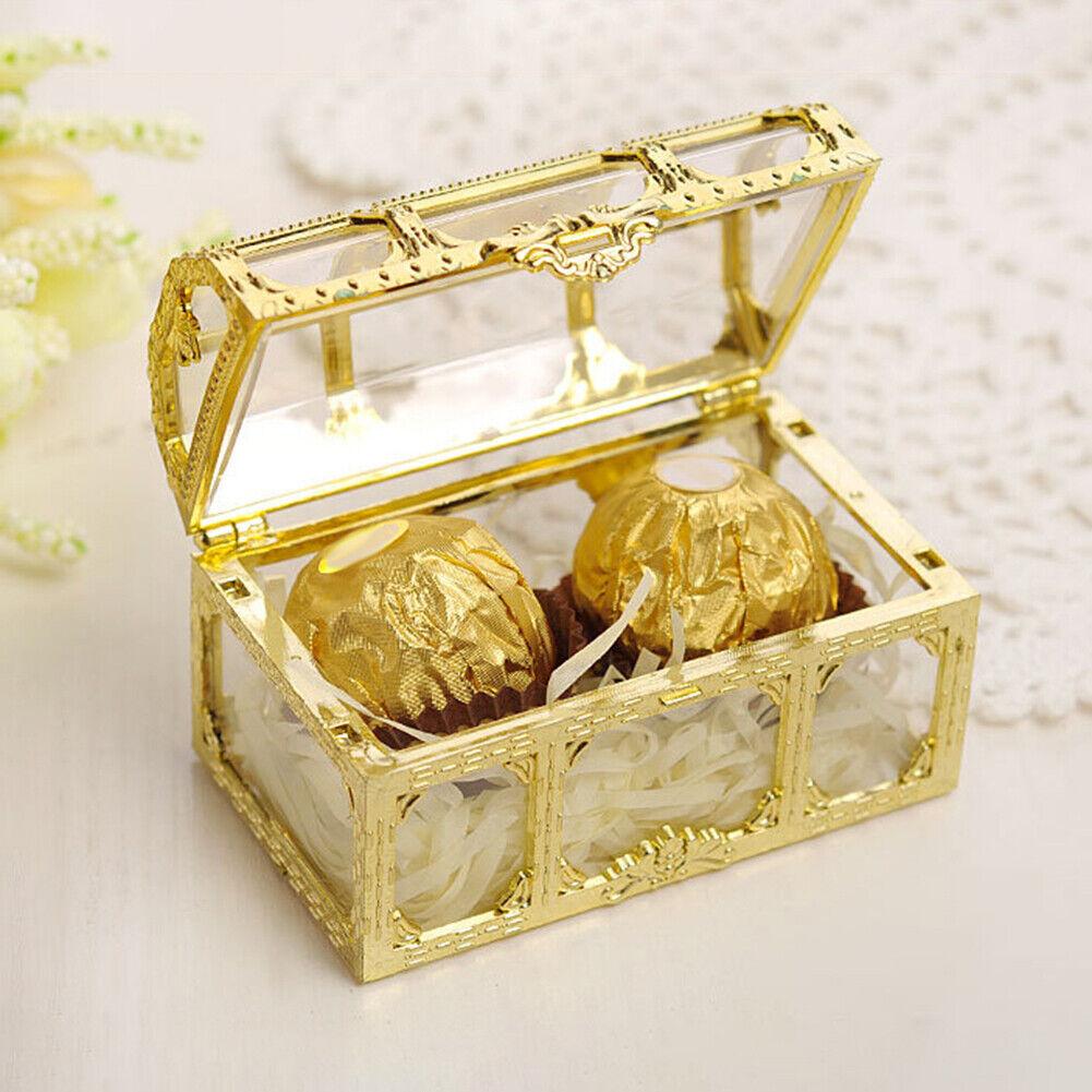 Diy Wooden Treasure Box Container For Storage Organizer Handmade Gift Toy Decor For Sale Online Ebay