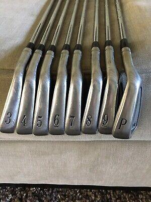 Used RH Titleist DCI 990 Black 3-PW Iron Set - Tri-Spec S-Flex Steel Irons.  | eBay